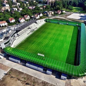 Stadion Karviná Ridera Stavební