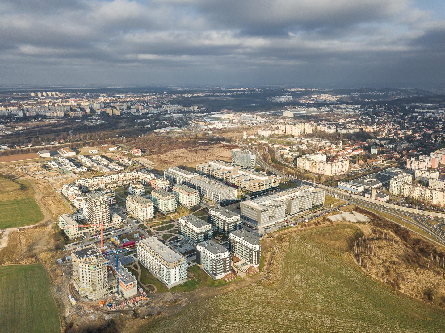 Praha 13 - Stodůlky Britská čtvrť – Západní město-objekty